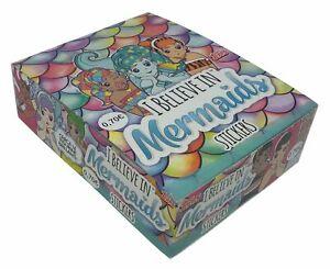 I Believe in Mermaids Topps Box 30 Packs Stickers