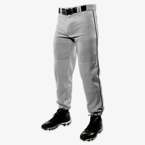 a piedi scatti di molte scelte di ineguagliabile Dettagli su Baseball Pantaloni Champro Adulti XL Cintura Slip Grigio Nero  Tubo Bp61 Za227