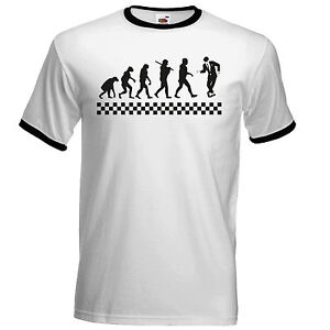 Evolution-Of-Ska-T-Shirt-The-Specials-Madness-2Tone-Ska-Dammers-Suggs-Two-Tone