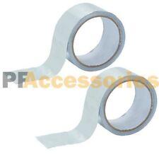 2 Rolls 26 Ft X 188 Aluminum Foil Heat Shield Tape Hvac Heating Ac Sealing Ad