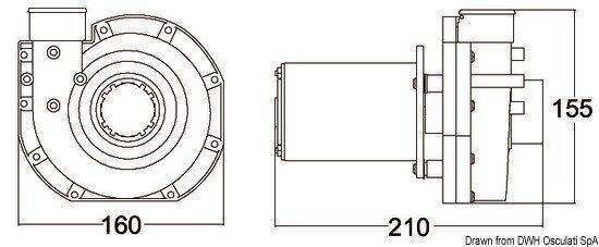 Pumpe Brecher Tecma 24 V Marke Tecma 50.226.61