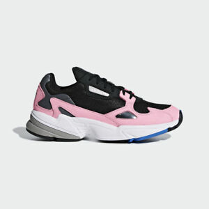 competitive price 0be0a 1673f Image is loading New-Adidas-Original-Womens-FALCON-BLACK-LIGHT-PINK-