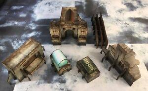 Details about Desecration City terrain bundle 2, Warhammer 40000, bolt  action, Warhammer 40k