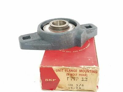 "* SKF UNIT FLANGE MOUNTING 2 BOLT HOLE BEARING FYTP 107  RCJT 1-7//16/""......XX-98"