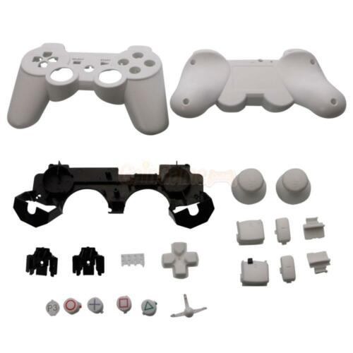 Full Housing Shell Case Button Kit for PS3 Wireless Controller White #113