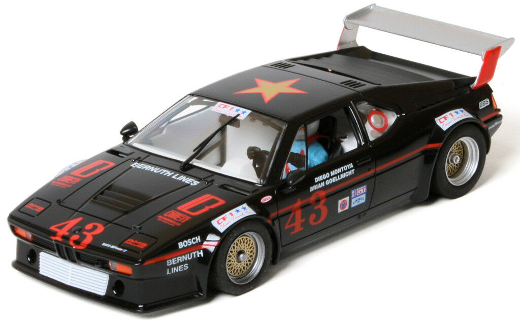 FLY SLOT Ref. 051103 BMW M1 - IMSA Watkins Glen 1984 - Diego MontSLOT CAR 1 32