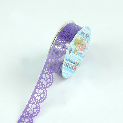 Useful Pop Openwork lace tape DIY Lace stickers decor stationery gift decor JRAU