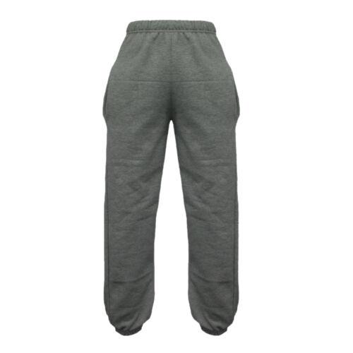 12-22 New Unisex Mens /& Ladies Warm Fleece Jogger Bottom Trousers Sizes S-XL