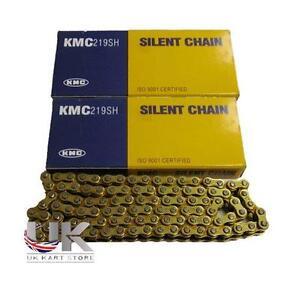 2-x-marque-Haut-de-gamme-KMC-112-Link-219-G-G-chariot-course-CHAINES-UK-KART