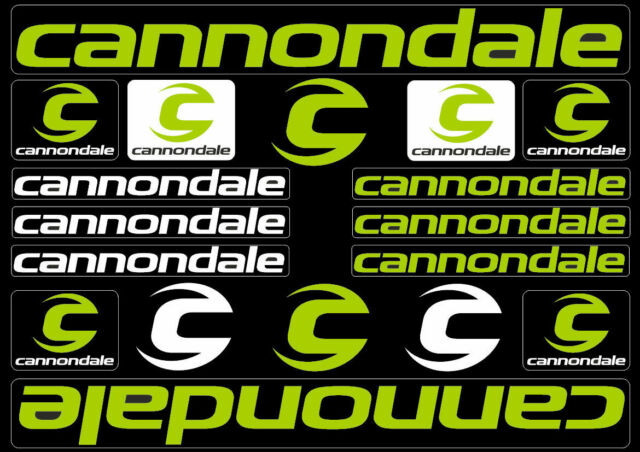 cannondale sticker  Buy Cannondale Bicycle Frame Decals Stickers Graphic Adhesive Set ...