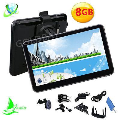 GOLDBAY 128MB 8GB FM POI Touch Screen Car GPS Navigation SAT NAV UK EU Free Maps