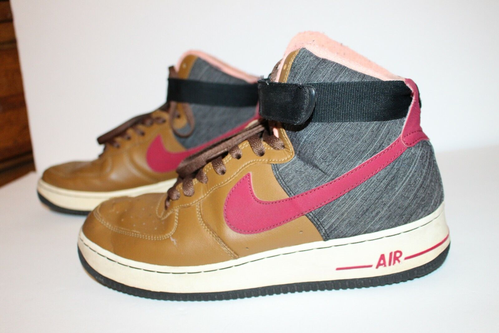 NIKE AIR FORCE 1 HIGH 07, 2013 Rare   Ale Brown, SHOES 315121 201 MENS Size 11