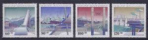 Bund-Mi-Nr-1650-1653-Sporthilfe-Olympiade-1993-postfrisch-MNH