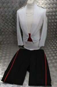 Ex-Army British Army Tropical Mess Dress Uniform Royal Anglian Buttons EBYT312
