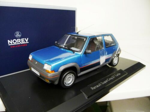 Edition 1000 NEW 1:18 NOREV Renault 5 GT Turbo Supercinq blue Norev 1:18 Lim