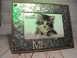 Cats Photo Frame I Love My Cat Cats Lovers Photo Gift Me And My