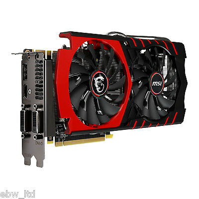 MSI GeForce GTX 960 DirectX 12 GTX 960 GAMING 2G 2GB 128-Bit GDDR5