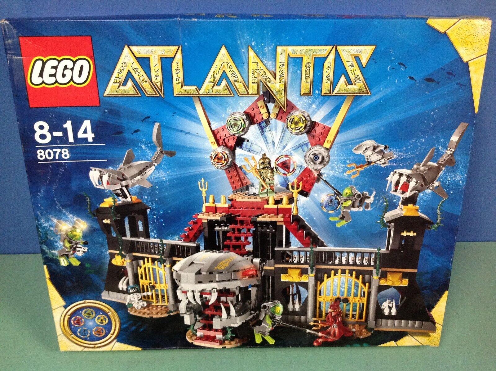 (N8078) Légo grande base Atlantis 8-14 ans en boite neuve ref 8078