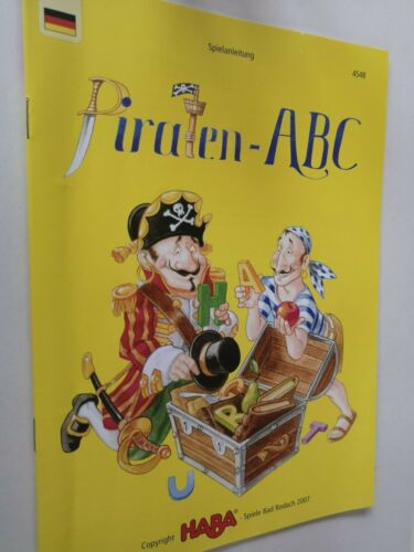 HABA Pirate ABC Spare Parts Accessories Replacement Retail