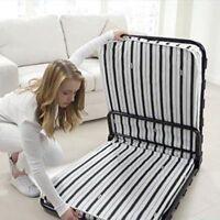 Folding Bed Camping Kit Fold Up Portable Mattress Breathable Airflow Mattress