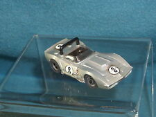 VINTAGE TYCO PRO HO SCALE RACE CAR CORVETTE #8 CHASSIS & BODY MADE IN HONG KONG