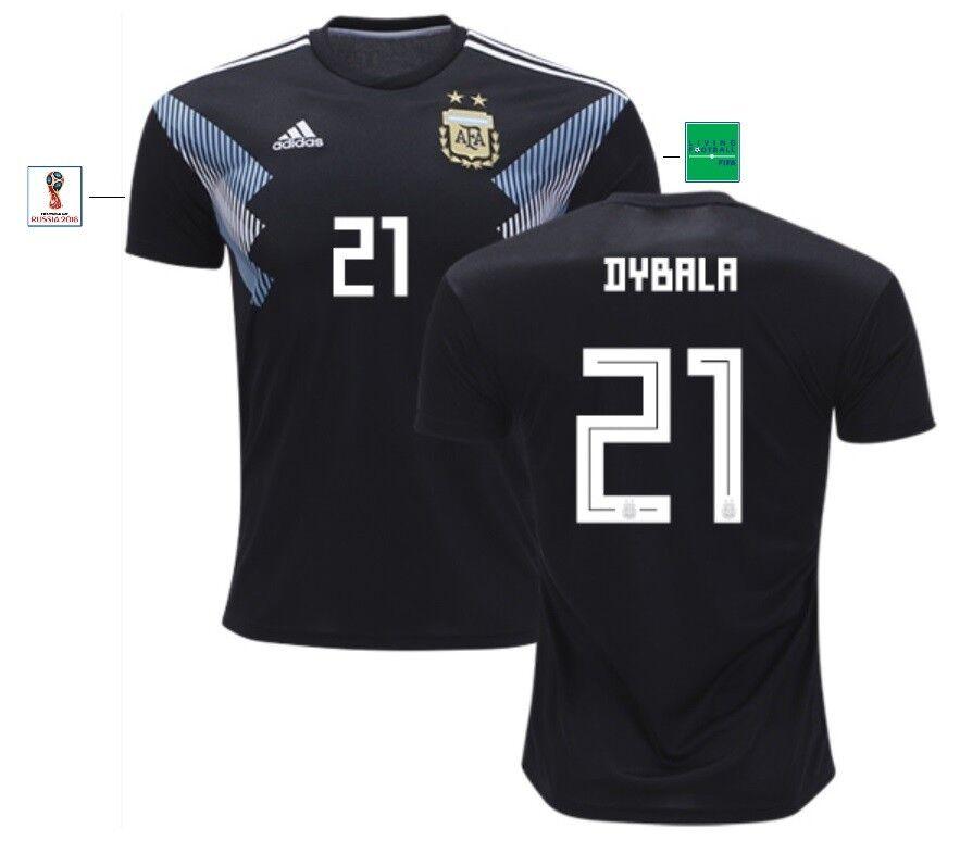 Trikot Adidas silverinien WM 2018 Away - Dybala 21 [152 bis XXL] silverina