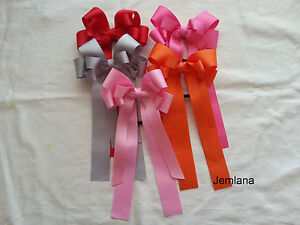 Jemlana-039-s-school-hair-tie-Big-size-double-bows-for-girls