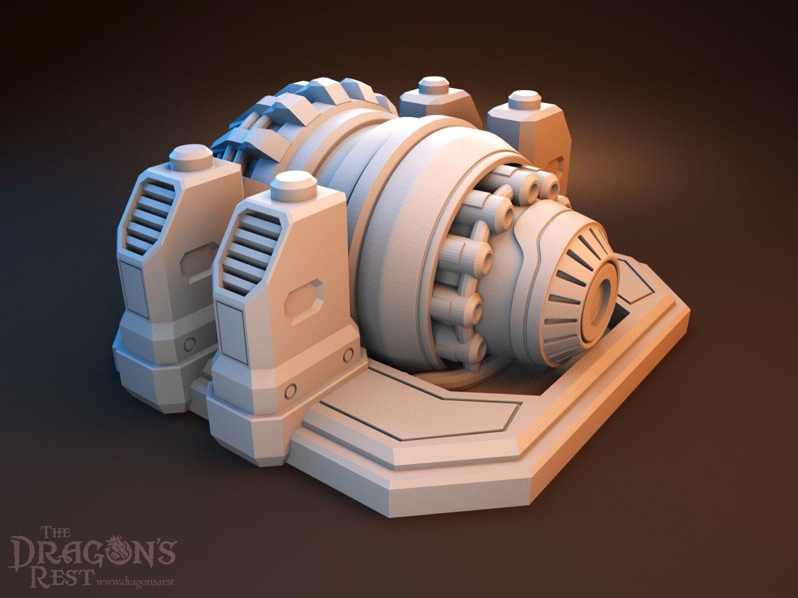 Sci Fi Comms Tower 28mm Wargame Terrain Infinity Warhammer 40K Star Wars Legion