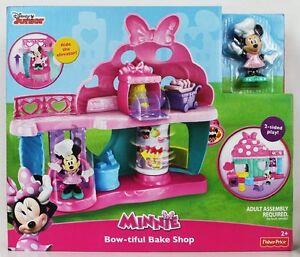 Fisher-price-cjg88-Disney-Junior-La-PASTICCERIA-DI-MINNIE-2anni-BAKE-SHOP