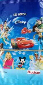 78 Cartes Les Héros Disney Auchan Ebay
