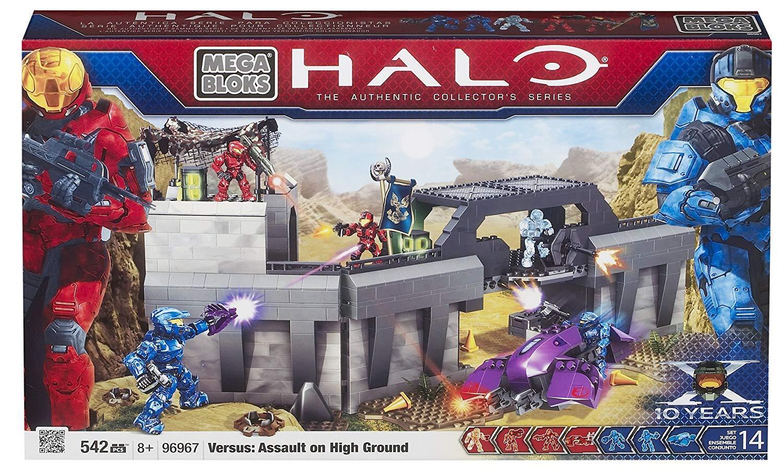 Mega Mega Mega Bloks Halo Versus: Assault on high ground, Set 96967, Nouveau et scellé! RARE! 8df10d