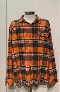 Legendary-Whitetails-Long-Sleeve-Button-Down-Plaid-Flannel-Men-s-Size-2XL