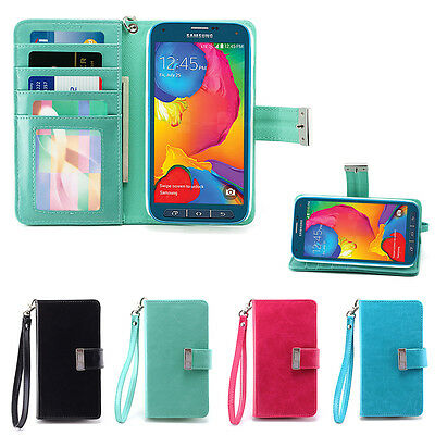 IZENGATE Wallet Flip Case PU Leather Cover for Samsung Galaxy S5 SPORT (G860)