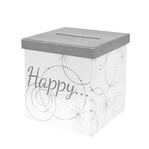Geschenke Und Geldbox Happy Hochzeit Geburtstag Briefbox