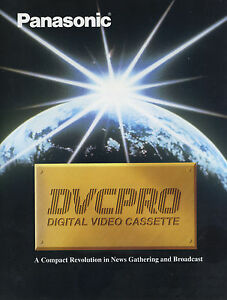 NEW RARE Panasonic DVCPRO Digital Video Full Line Format Product Brochure Specs