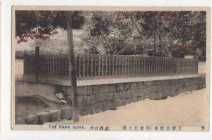 The-Park-Suma-Japan-Vintage-Postcard-492a