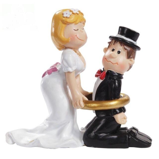 Brautpaar Lustig Hochzeitspaar Tortenaufsatz Geschenk Verpackung