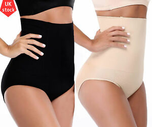 a7fb2dced964 Image is loading Thong-High-Waist-Cincher-Tummy-firm-Control-Panty-