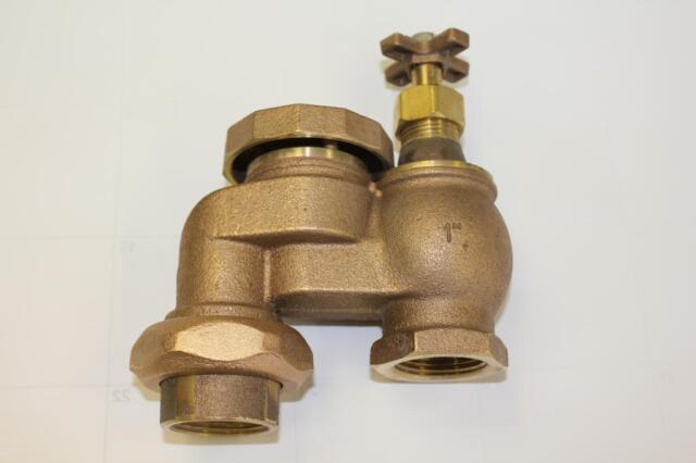 Shop orbit 1-in plastic manual anti-siphon irrigation valve at.