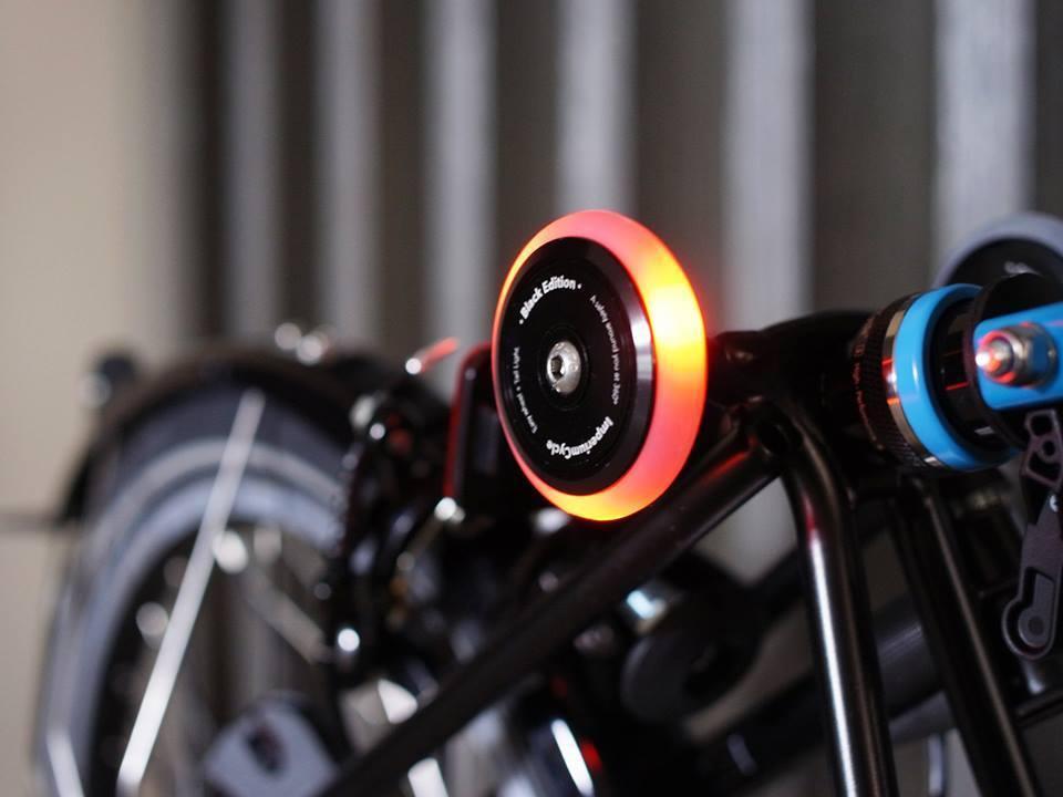 Brompton Birdy Easy Ezwheels Easy Wheels Illuminator (Multi-S)