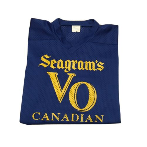 VTG 80s Canadian Seagrams Canadian Whiskey Hockey