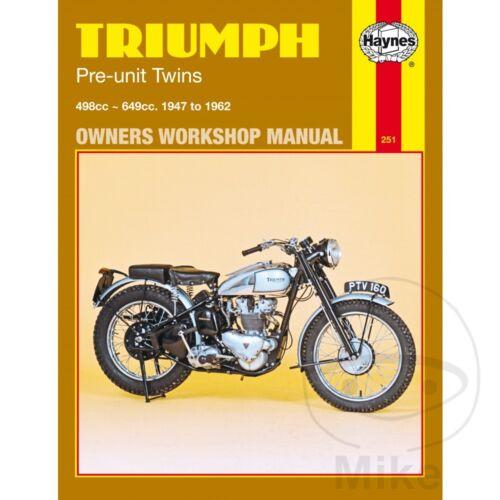 Triumph TR6 650 Trophy 1956-1960 Haynes Service Repair Manual 0251