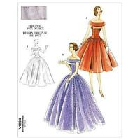 Vogue Patterns V1094 Misses' Dress, Size Aa (6-8-10-12), New, Free Shipping