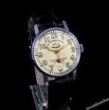 Poljot Shturmanskie Gagarin mens wrist watch Vintage USSR RARE Serviced & oiled