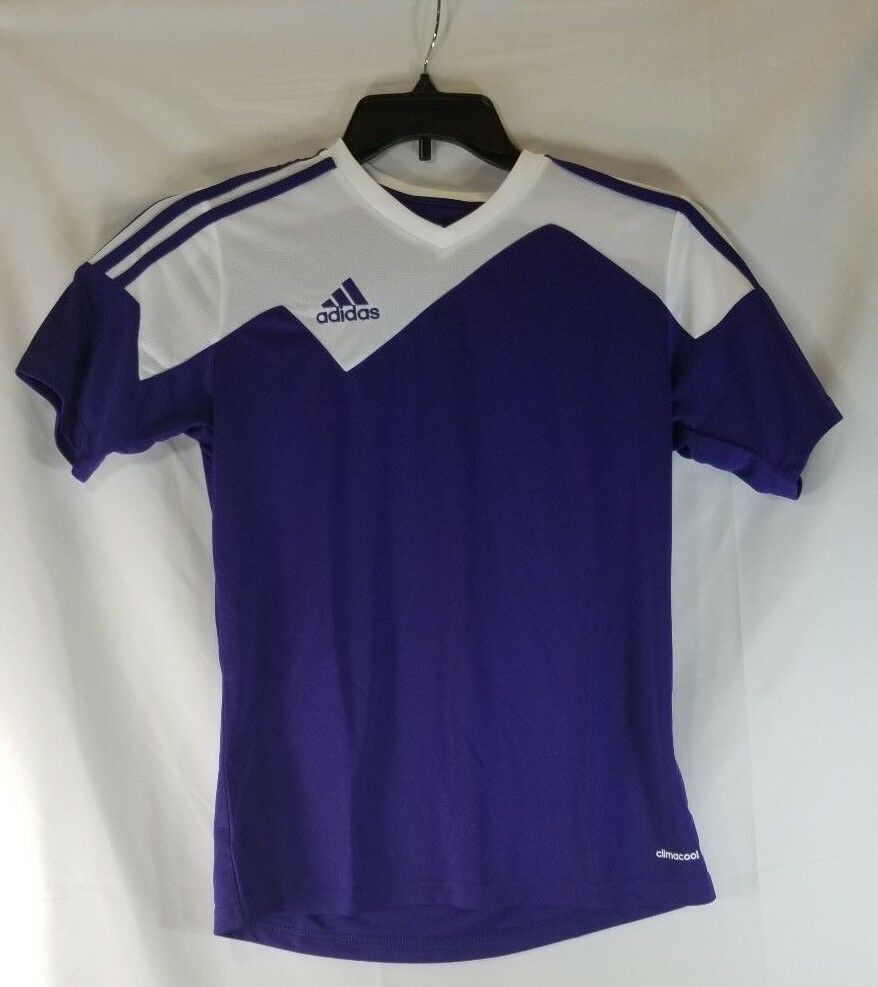 Adidas Performance Purple Toque 13 Soccer Jersey Youth Large NEW