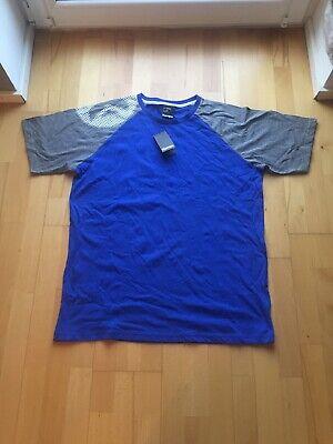 2XL Gr Blau royal Kempa Herren Poly Polo Shirt