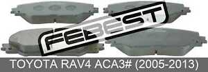 Pad-Kit-Disc-Brake-Front-Kit-For-Toyota-Rav4-Aca3-2005-2013