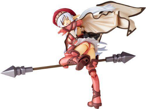 NEW Revoltech Queen/'s Blade No.007EX Fighting Master Alleyne 2P Color Figure F//S