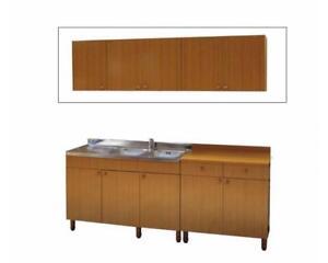 Pensili mobili cucina 30-40-60-80-angolo-scolapiatti-cappe Teak | eBay