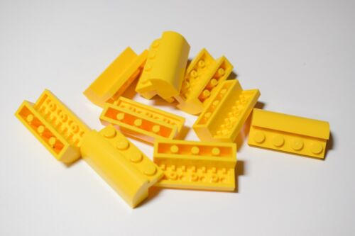 Lego 6081 Brick Curved 2x4 Select Colour Pack of 10